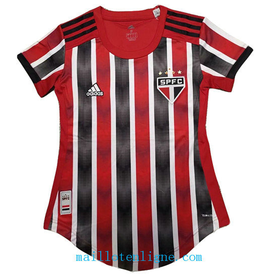 Maillot Sao Paulo Exterieur Femme 2019 2020