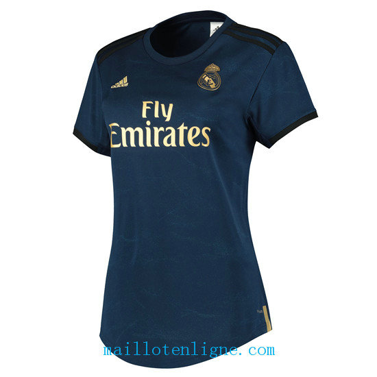 Maillot Real Madrid Femme Exterieur 2019 2020