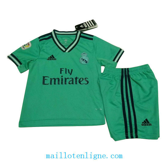 Maillot Real Madrid Enfant Third Vert 2019 2020