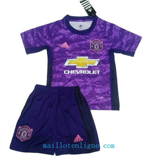 Maillot Manchester united Gardien de but Pourpre 2019 2020