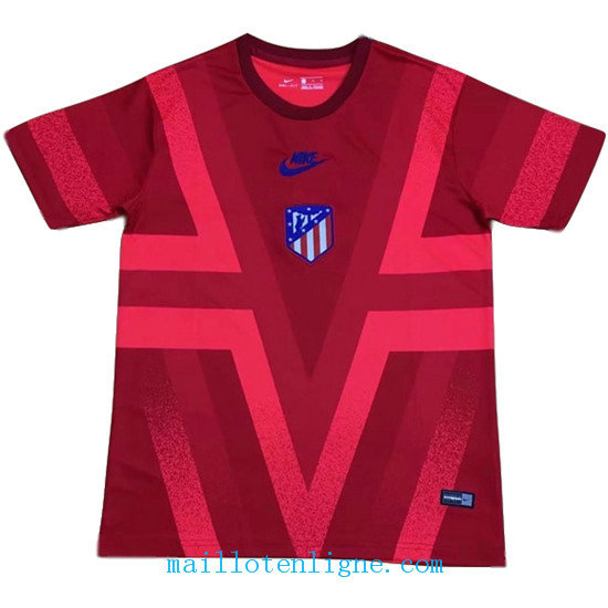 Maillot Atletico Madrid Training Rouge 18-19
