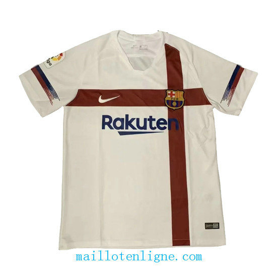 Maillot Barcelone Entrainement Blanc 2019 2020