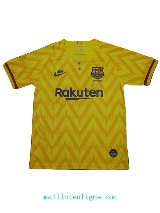 Maillot Barcelone 120th anniversary edition Jaune