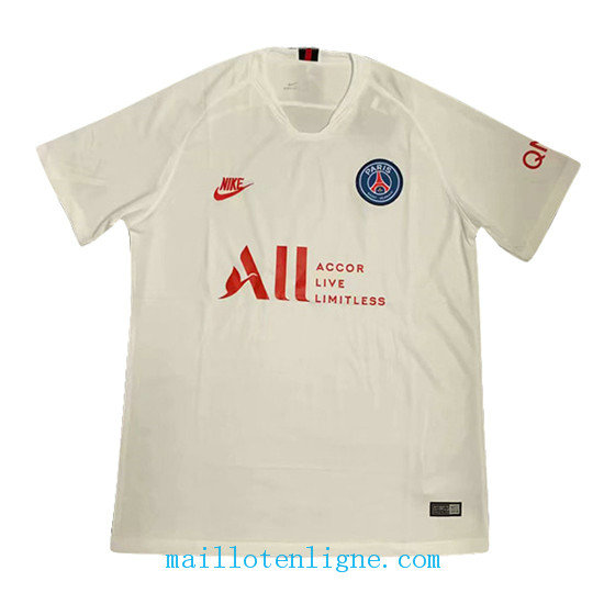 Maillot PSG Blanc Concept 2019 2020