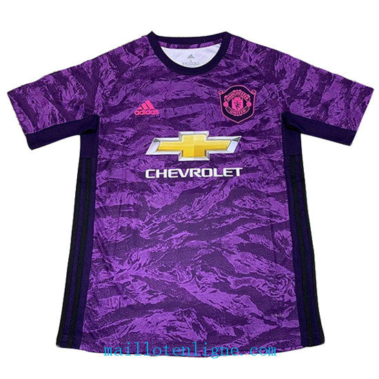 Maillot Manchester United Dardien De But Pourpre 2019 2020