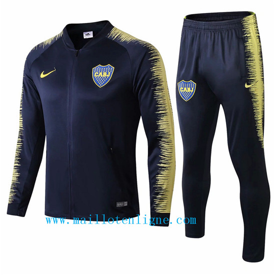 Maillotenligne Veste Survetement Boca Juniors Bleu Marine 2018/2
