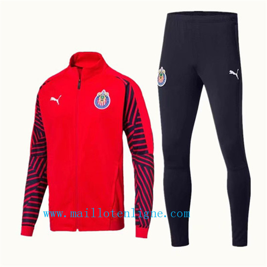 Maillotenligne Veste Survetement Chivas Rouge 2019/2020