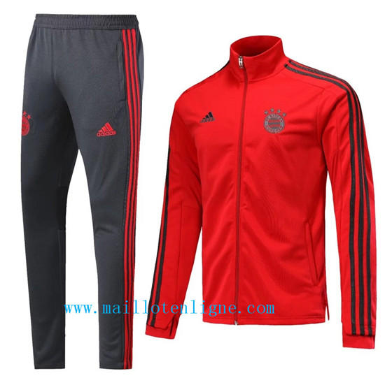 Maillotenligne Veste Survetement Bayern Munich Rouge 2018/2019