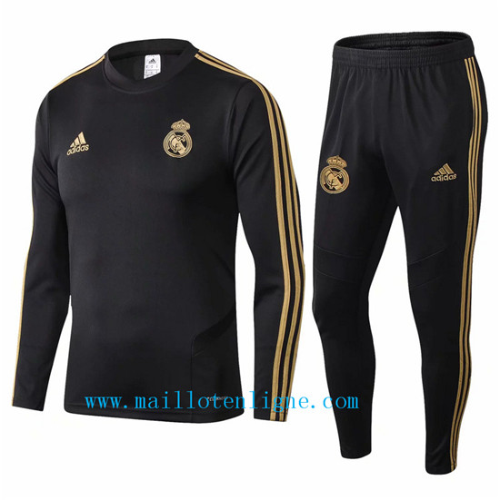 Maillotenligne Survetement Real Madrid Noir 2019/2020