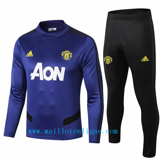 Maillotenligne Survetement Manchester United Bleu Marine 2019/20
