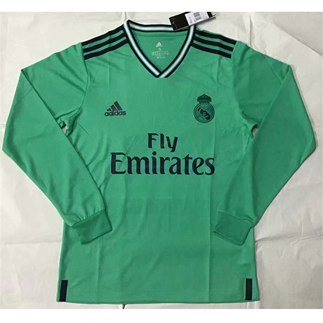 M44 Maillot du Real Madrid Third Manche Longue 2019 2020
