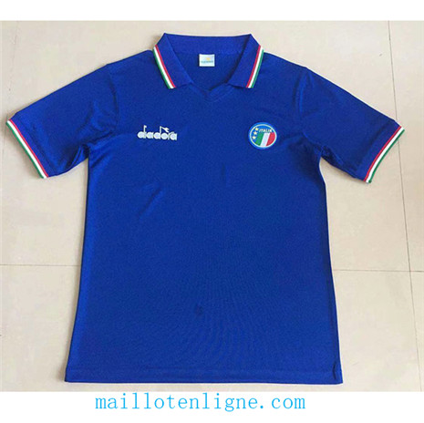 ML042 Maillot du 1986 Italy Domicile