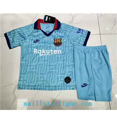 Maillot Barcelone Enfant Third 2019 2020
