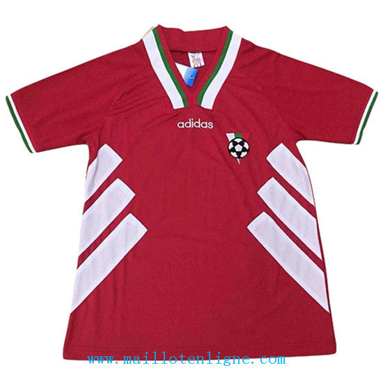 Maillot 1994#Bulgarie Rouge