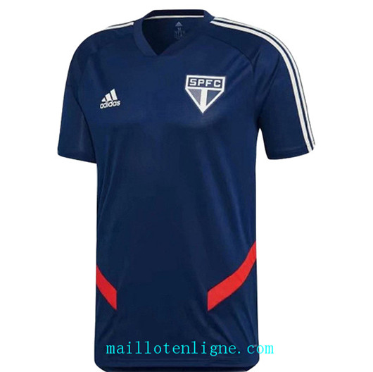 Maillot de foot Sao Paulo Training Bleu 2019/2020