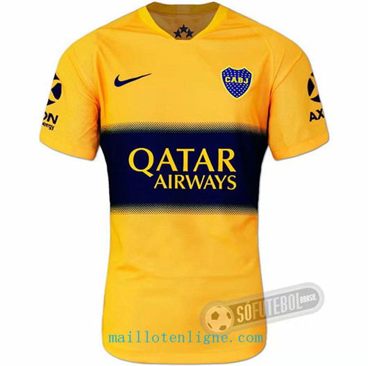 Maillot de foot Boca juniors Jaune 2019/2020
