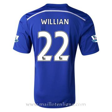 Maillot Chelsea Willian Domicile 2014 2015