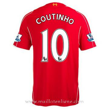 Maillot Liverpool Coutinho Domicile 2014 2015