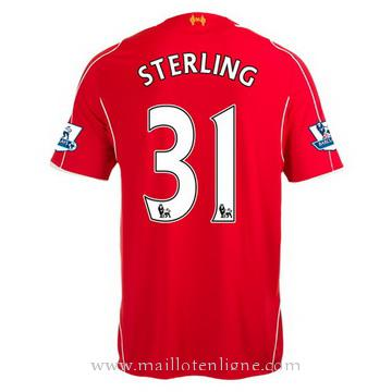 Maillot Liverpool Sterling Domicile 2014 2015