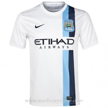 Maillot Manchester City Blanc 2013-2014