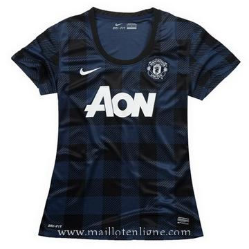 Maillot Manchester United Femme Exterieur 2013-2014