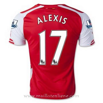 Maillot Arsenal ALEXIS Domicile 2014 2015