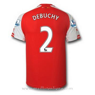 Maillot Arsenal DEBUCHY Domicile 2014 2015