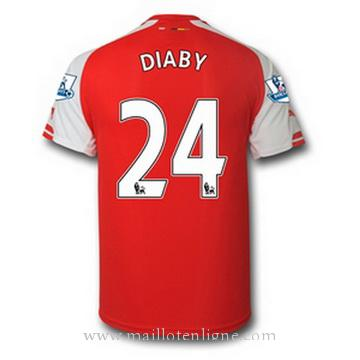 Maillot Arsenal DIABY Domicile 2014 2015