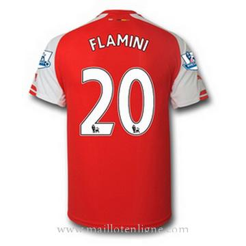 Maillot Arsenal FLAMINI Domicile 2014 2015