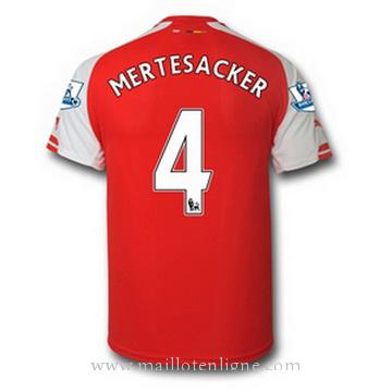 Maillot Arsenal MERTESACKER Domicile 2014 2015