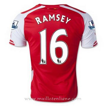 Maillot Arsenal RAMSEY Domicile 2014 2015