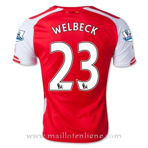 Maillot Arsenal WELBECK Domicile 2014 2015