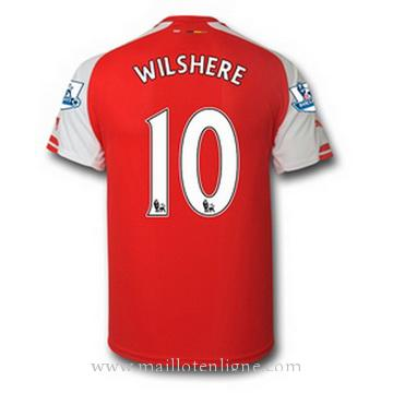 Maillot Arsenal WILSHERE Domicile 2014 2015