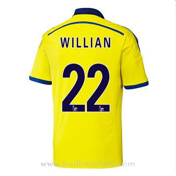 Maillot Chelsea Willian Exterieur 2014 2015