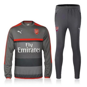 Maillot Formation ML Arsenal Gris 2016 2017