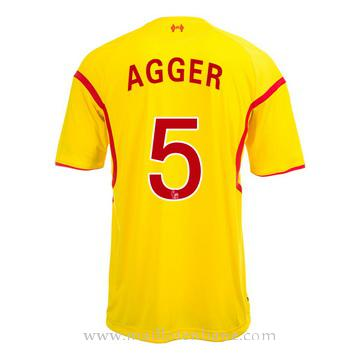 Maillot Liverpool Agger Exterieur 2014 2015