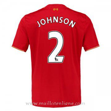 Maillot Liverpool JOHNSON Domicile 2015 2016