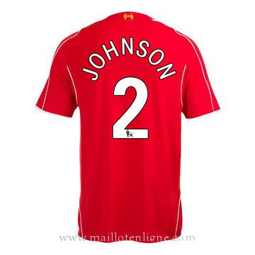 Maillot Liverpool Johnson Domicile 2014 2015