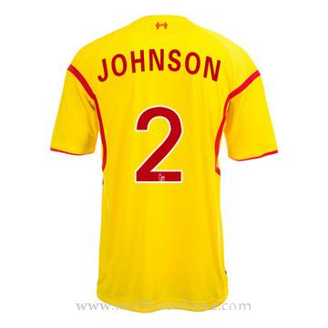 Maillot Liverpool Johnson Exterieur 2014 2015