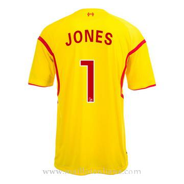 Maillot Liverpool Jones Exterieur 2014 2015