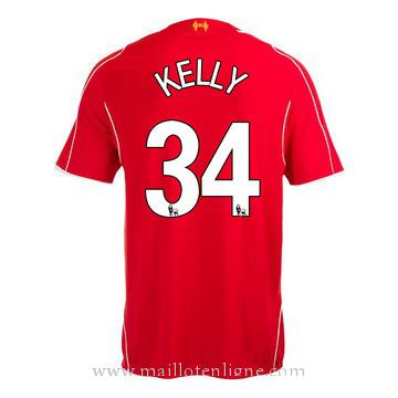 Maillot Liverpool KELLY Domicile 2014 2015