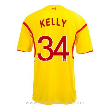 Maillot Liverpool Kelly Exterieur 2014 2015