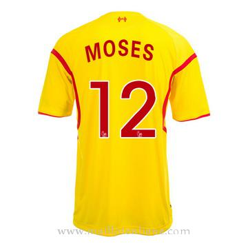 Maillot Liverpool Moses Exterieur 2014 2015