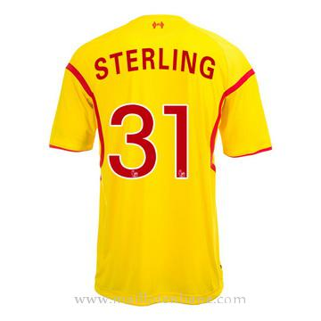 Maillot Liverpool Sterling Exterieur 2014 2015