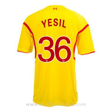 Maillot Liverpool Yesil Exterieur 2014 2015