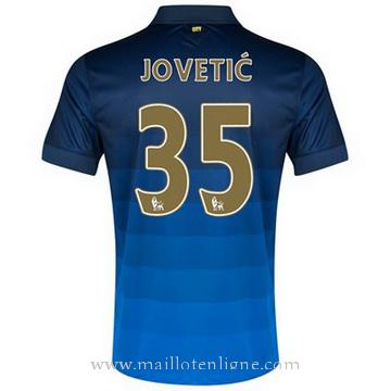 Maillot Manchester City Jovetic Exterieur 2014 2015