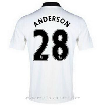 Maillot Manchester United ANDERSON Exterieur 2014 2015
