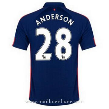 Maillot Manchester United ANDERSON Troisieme 2014 2015