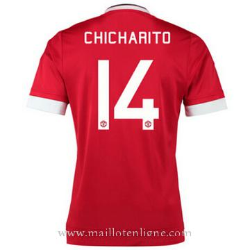 Maillot Manchester United CHICHARITO Domicile 2015 2016