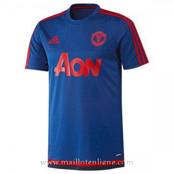 Maillot Manchester United Champion Formation Bleu 2015
